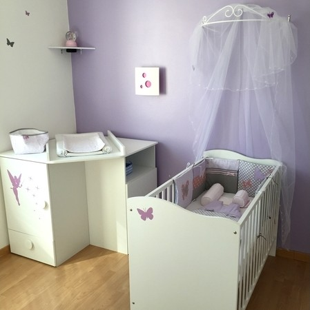 Deco de chambre bebe fille idees decoration chambre bebe for Idee deco chambre fille rose